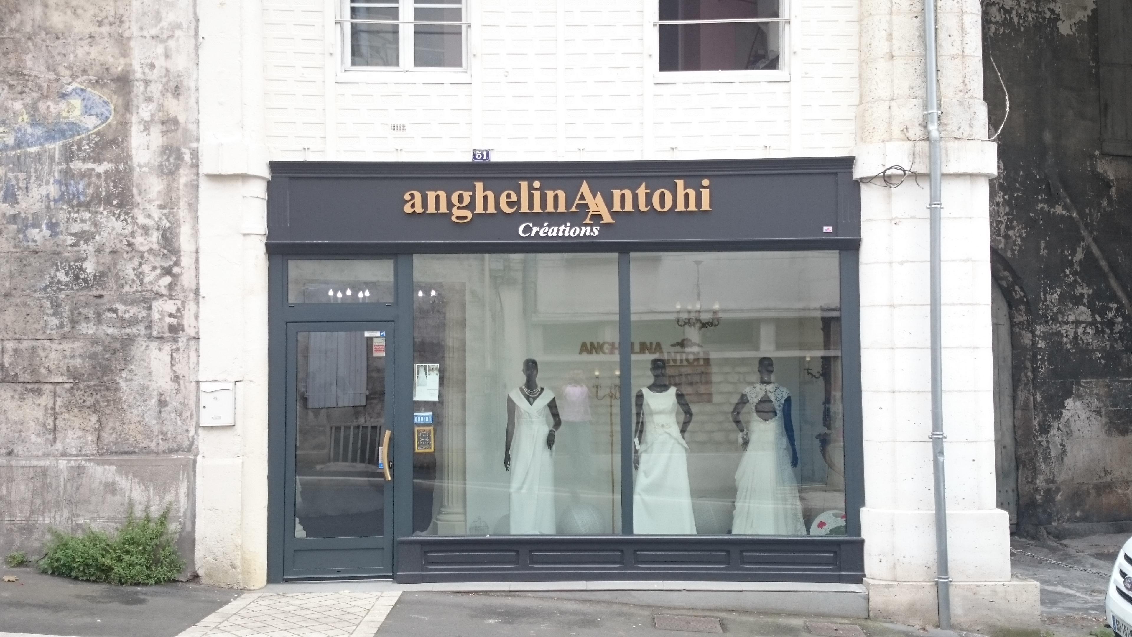 Devanture pour Anghelina Antohi