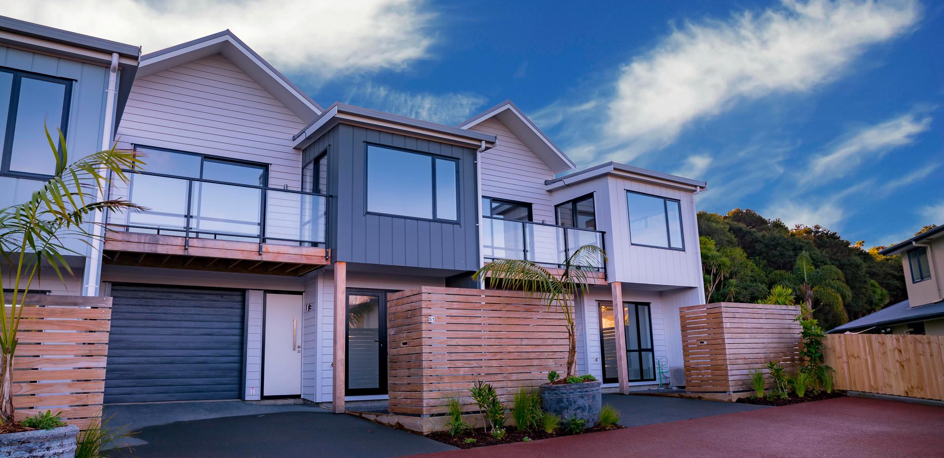New Villas Exterior Waiheke Retirement Village