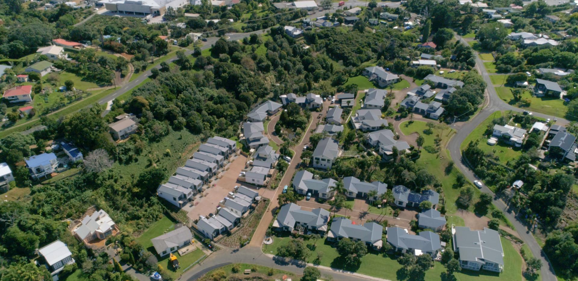 Aerial View Over Waiheke Retirement Village