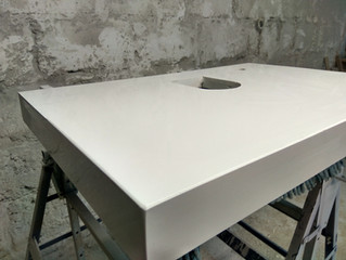 Crystal Absolute White - produkcja