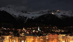 Innsbruck at night1