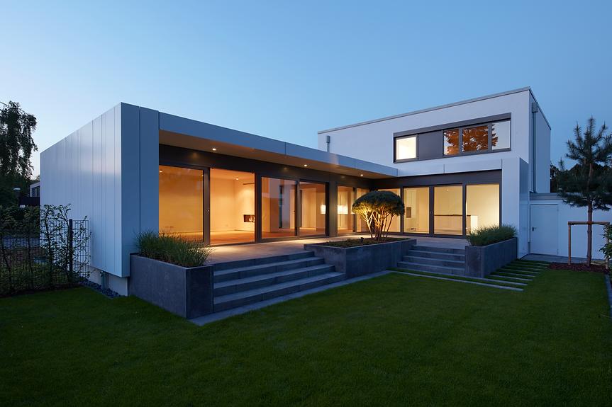 Einfamilienhaus in Meerbusch - Eternit & Alucubond