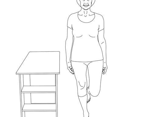 Single Leg Balance Standing Unsupported