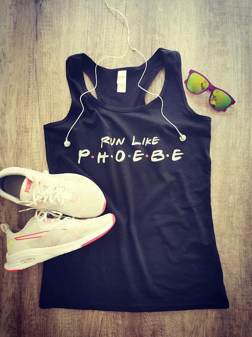 Run Like Phoebe Friends Inspired Tank