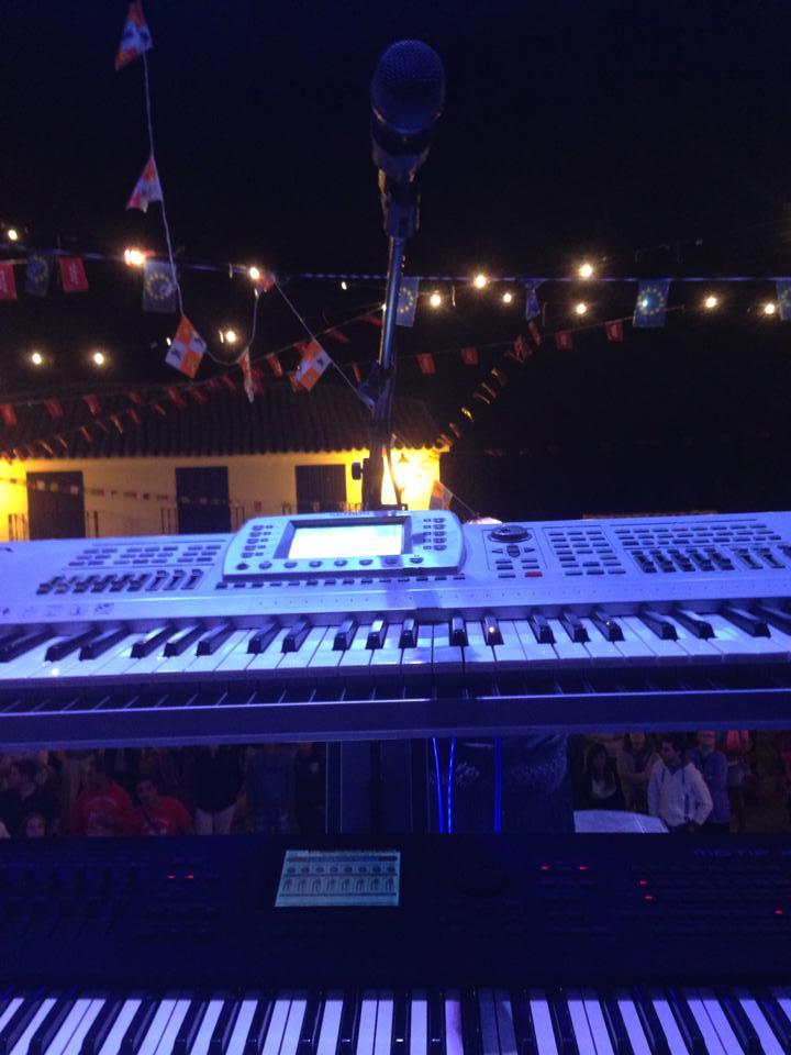Foto desde el escenario