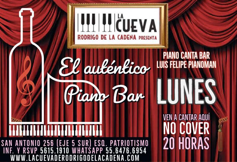 Lunes de Piano Bar No Cover