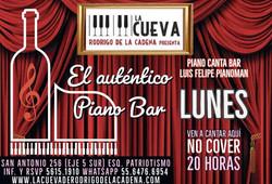 Lunes de Piano Bar No Cover