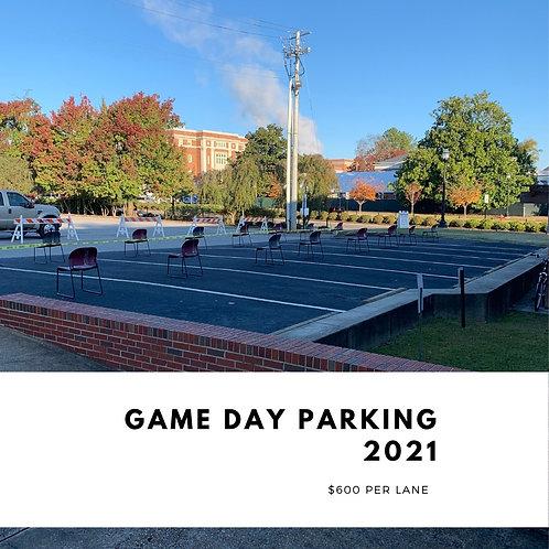 2021 Game Day Parking Deposit
