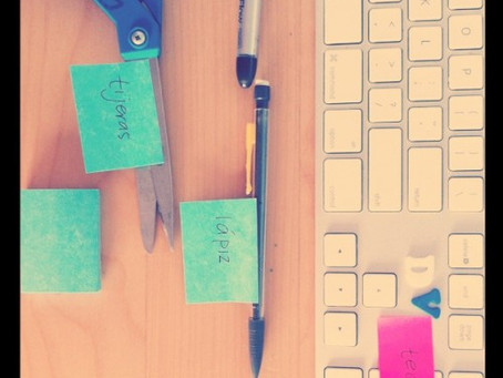 Post-it en leer je taal!