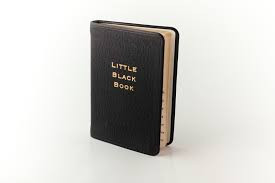Little black book...