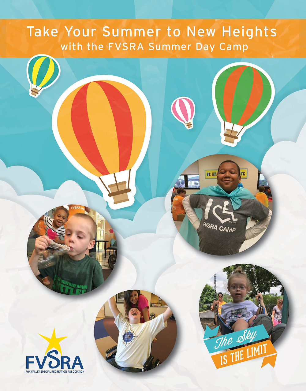 Summer Day Camp brochure