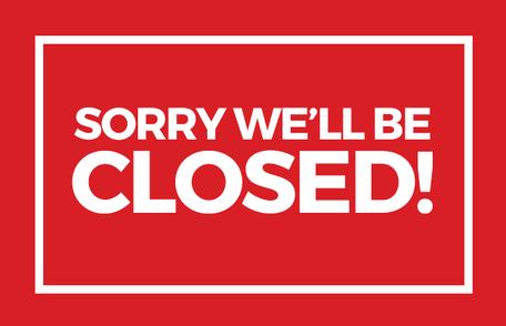 FVSRA Office Closed 10/22