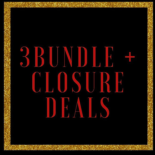 The Billion 3 Bundles + Closure Deal SALE