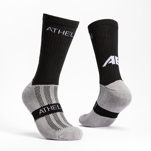 Black - AthElite Comfort Sock Generation 2.0