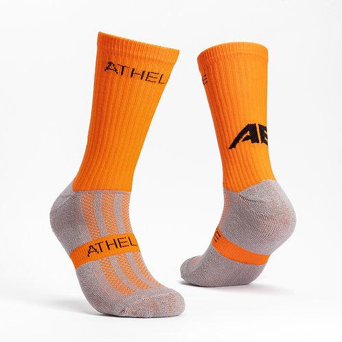 Orange - AthElite Comfort Sock Generation 2.0
