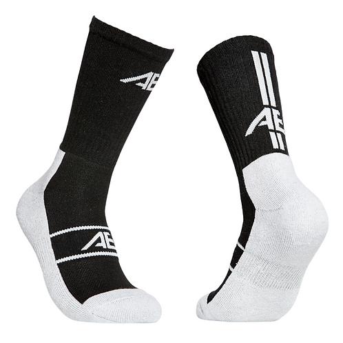 AE  Black Comfort Sock 3.0 (Pack of 3)