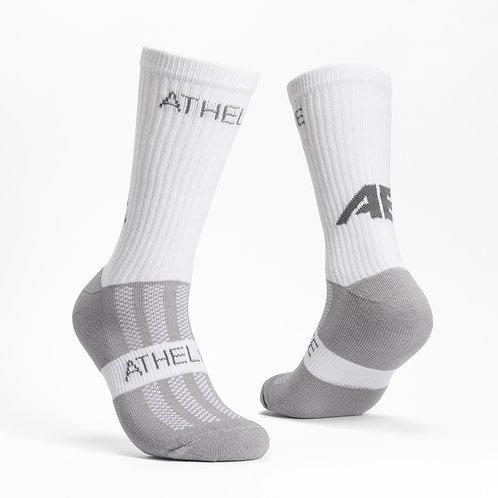 White - AthElite Comfort Sock Generation 2.0