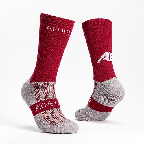 Maroon - AthElite Comfort Sock Generation 2.0