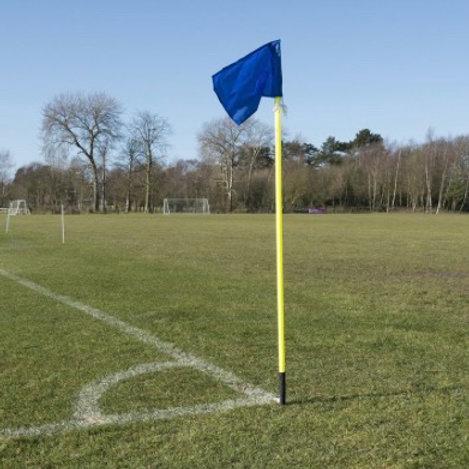 Spring Base Corner Flags x 4