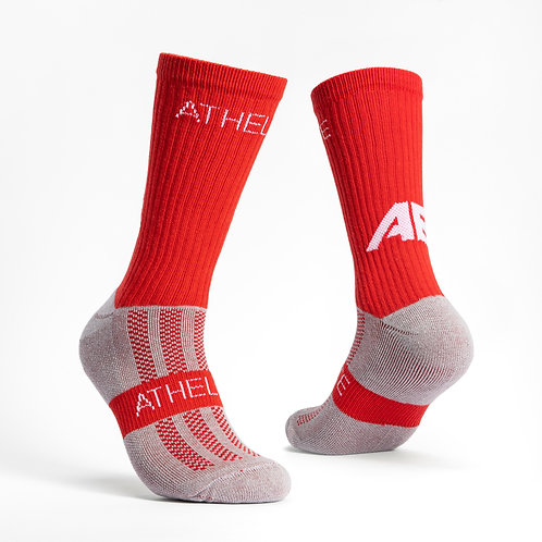 Red - AthElite Comfort Sock Generation 2.0