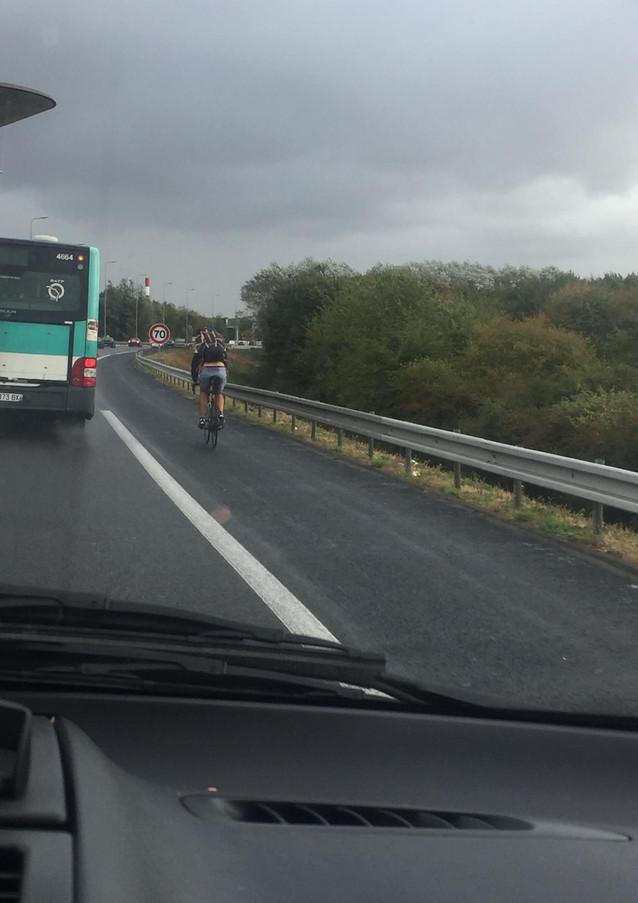 Ook in Frankrijk zijn wielrenners vervelend