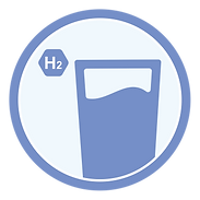 Hydrogen Water Generator Icon
