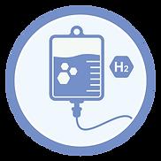 Hydrogen Drip Infusion Bag Generator Icon