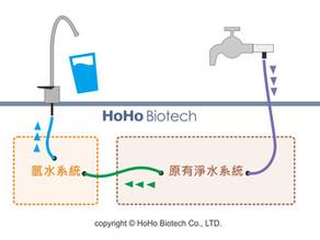 廚下型氫水機即時產生水素水原理