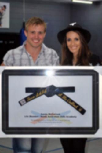 Steven Brown | Sandy McCulloch Life Member South Australian Judo Academy