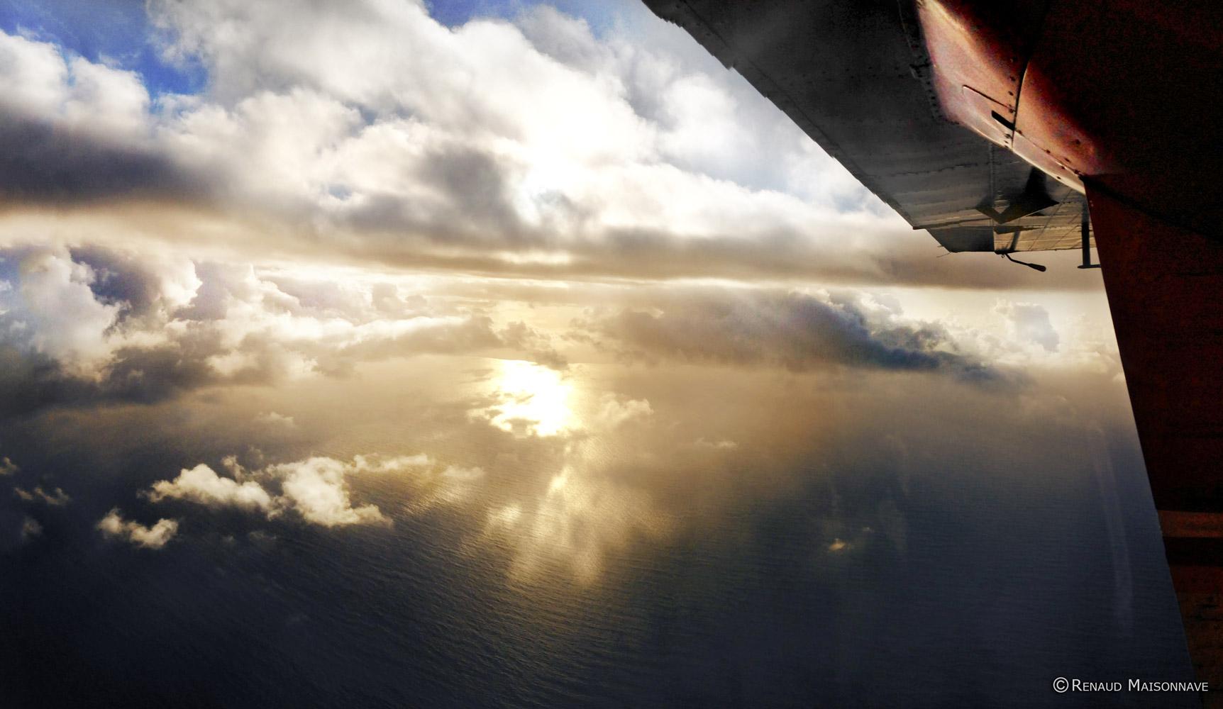 Ciel des Antilles en avion privée