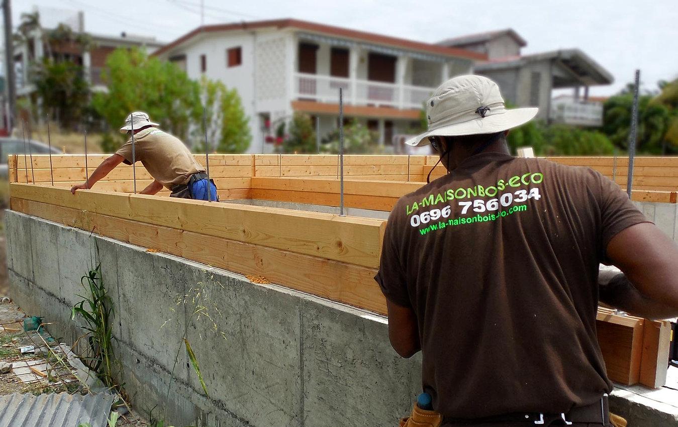 Construction maison guadeloupe pas cher maison moderne - Construction bois guadeloupe ...