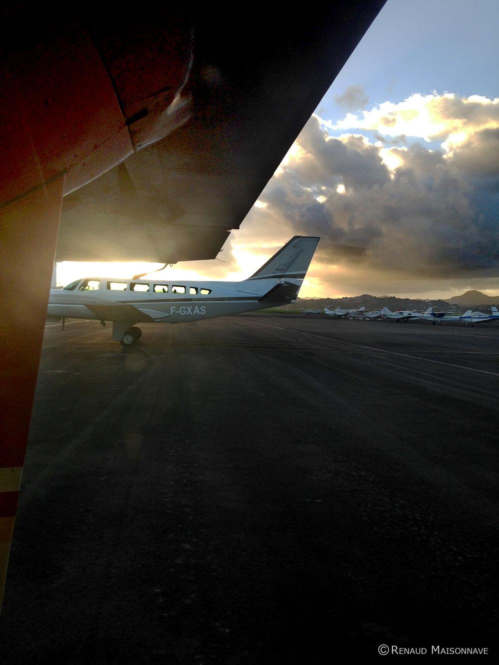 Cessna vue depuis BN2 - Airawak