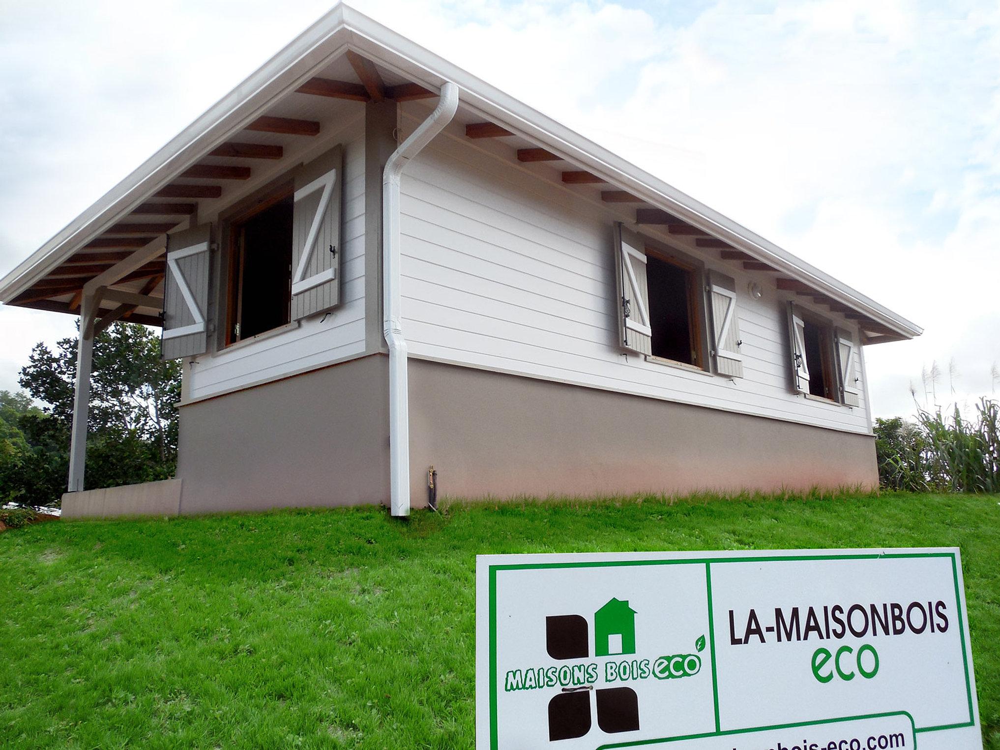 Maison bois antilles ventana blog - Maison bois eco ...
