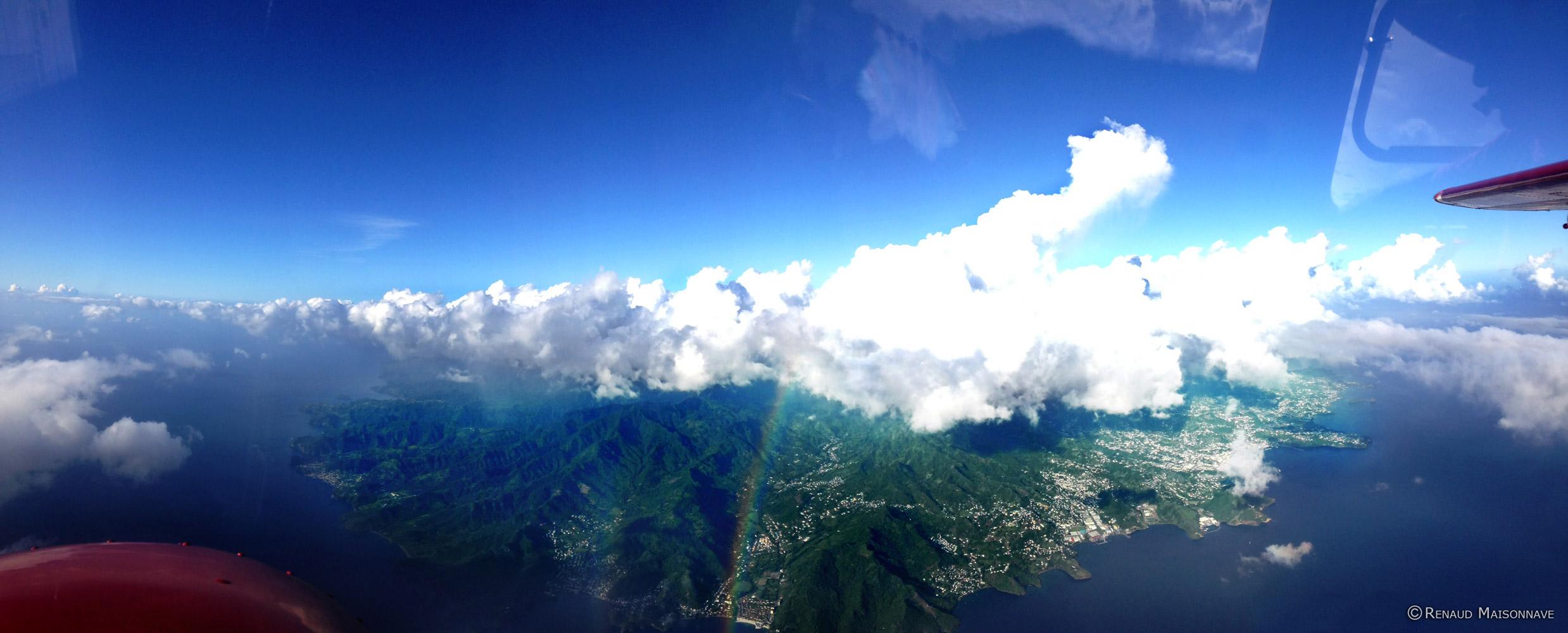 Survole des Antilles - Par Airawak