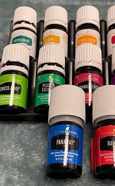 Aromatherapy at Claim Your Calm Massage in Hampton, VA