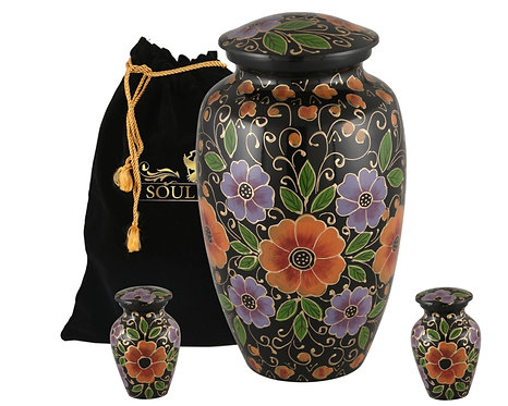 Green MultiFlower Keepsake Urn