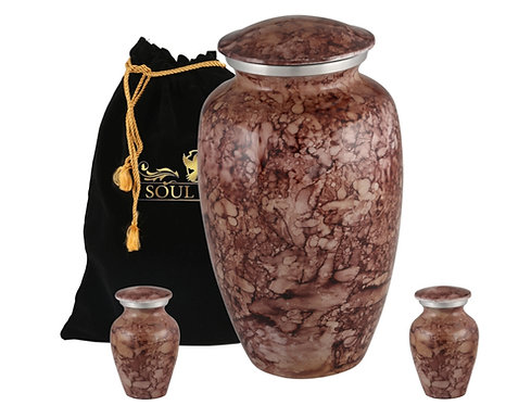 Marble Finish Cremation Urn
