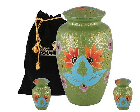 Verdante Green Cremation Urn