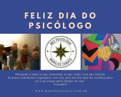 Dia 27/08 – Dia do Psicólogo