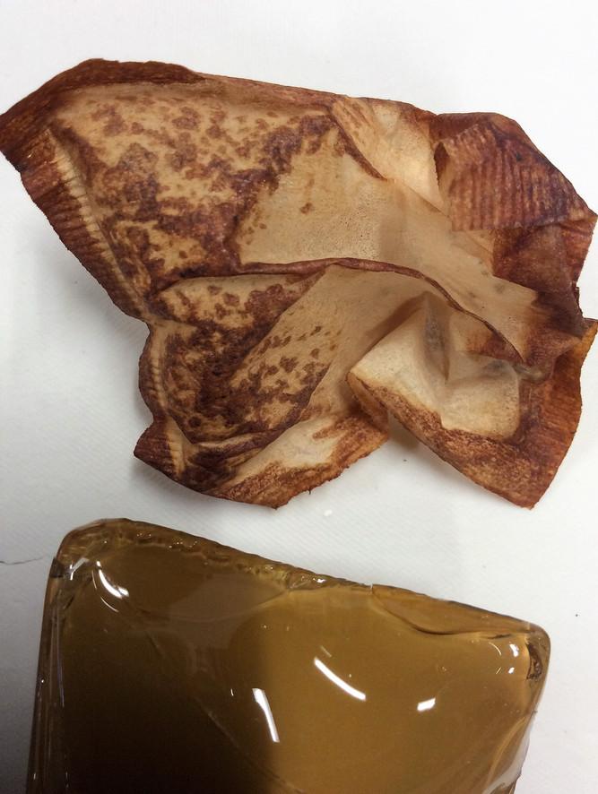 Crumpled Teabag, Shattered Glass Teabag