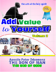 ADD VALUE TO YOURSELF VOLUME 2