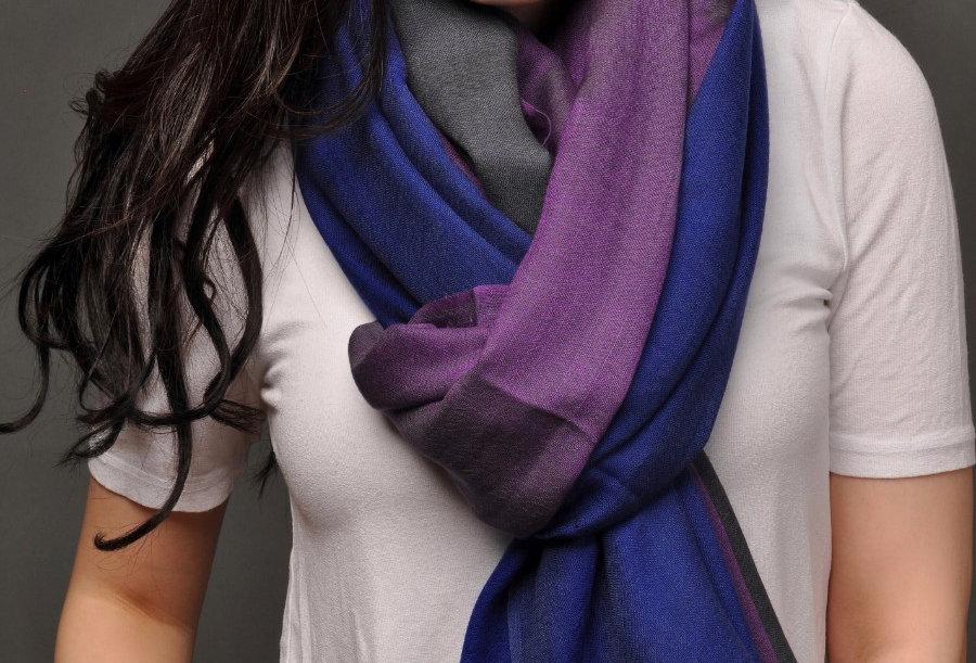 EXOTICA Royal - Signature Extra Fine Merino Wool Scarf