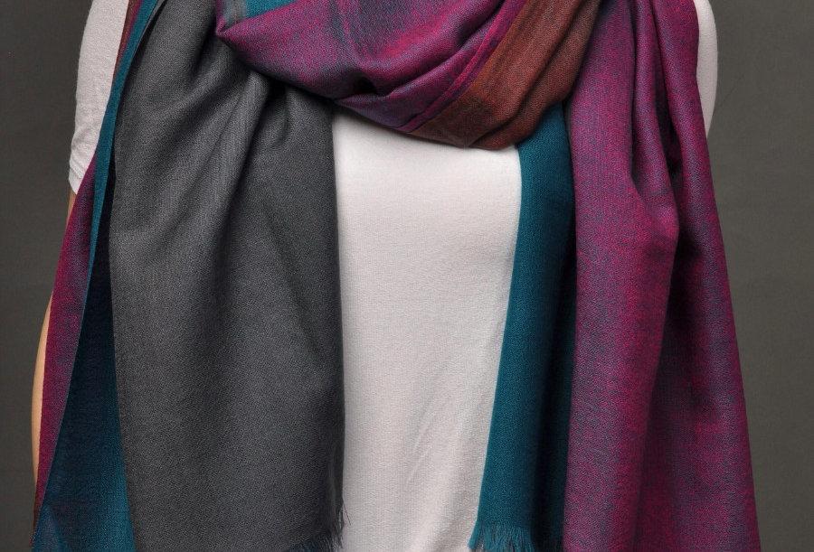 EXOTICA Peaceful Bliss- Signature Extra Fine Merino Wool Scarf