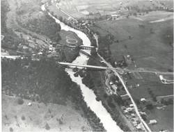 Aerial view of Jordan's Point