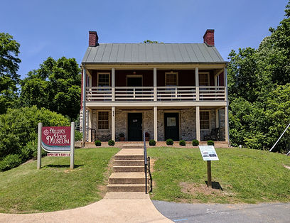 Miller's House Museum at Jordan's Point in Lexington, VA