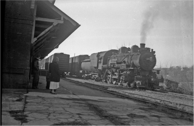 Lex Rail Station-1950s