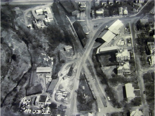 Aerial View of Lex Station