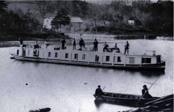 Packet boat on Maury River