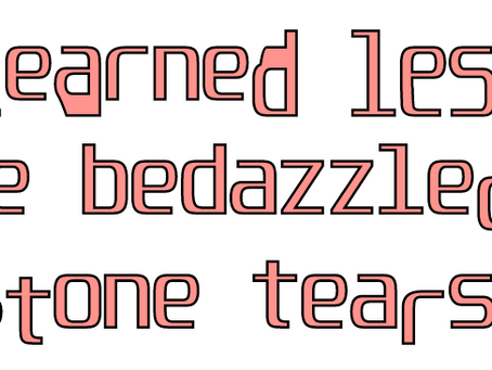 Material of Language assign 4: Rhinestone Tears