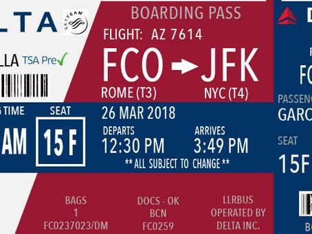 Visual Language week 3: Boarding pass redesign
